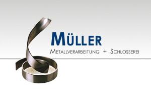 Logo - Müller Metallverarbeitung + Schlosserei