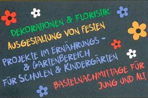 Logo - Trockenfloristik & mehr